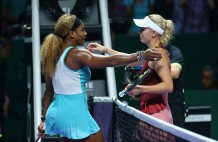 BNP Paribas WTA Finals: Singapore 2014 - Day Six