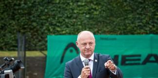 Formand i Dansk Tennis Forbund Henrik Klitvad