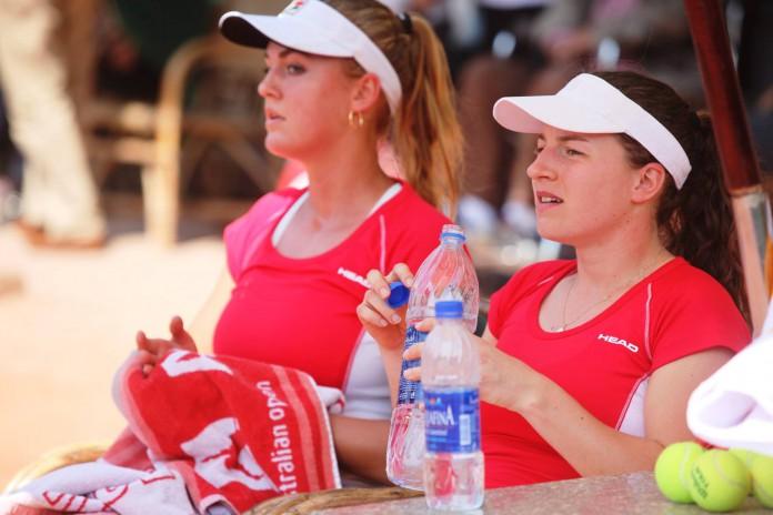 Emilie Francati og Karen Barritza