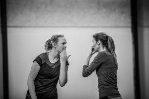 Mathilde Tranberg og Silvia Talaja