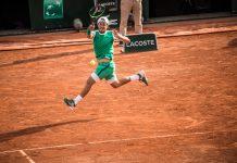 Lucas Pouille. French Open 2017