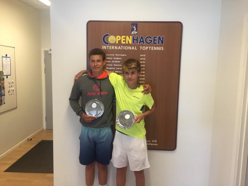 Eric Vanshelboim og Felipe Mikkelsen