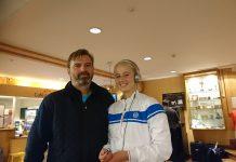 Søren Tauson og Clara Tauson