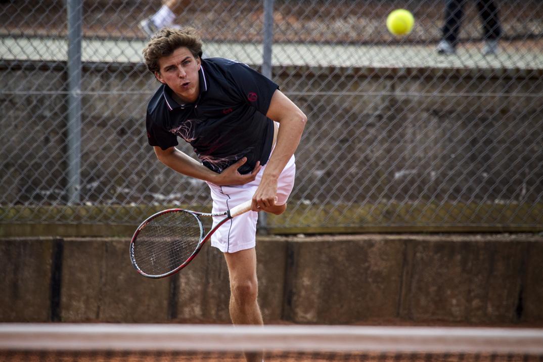Tennisspilleren Thomas Kromann