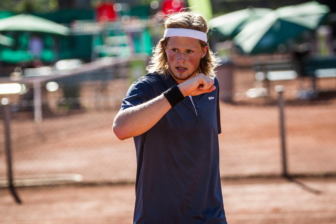 Tennisspilleren Christian Sigsgaard Petersen