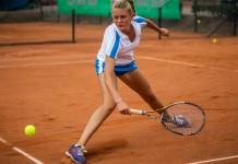 Tennisspilleren Emilie Francati