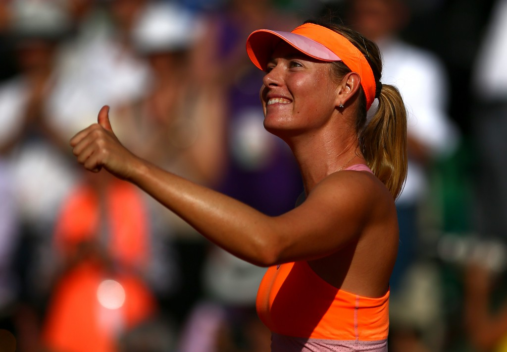 Maria Sharapova ses her ved French Open 2014