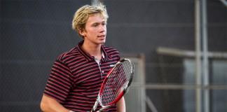 Tennisspilleren Simon Friis Soendergaard