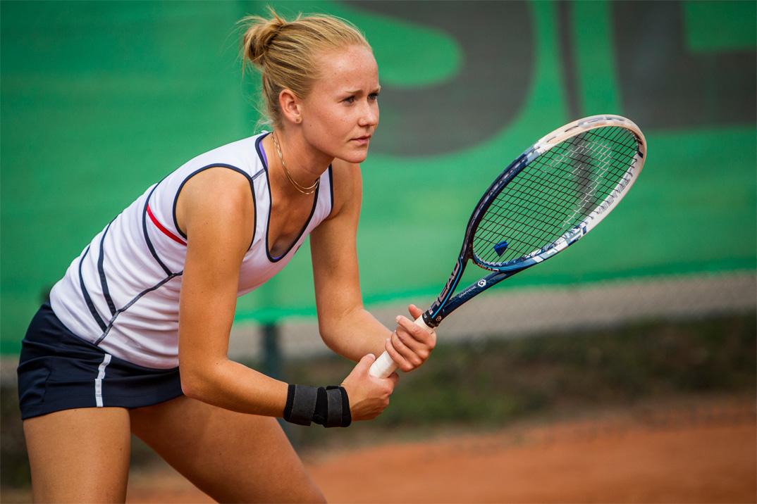 Tennisspilleren Julie Noe