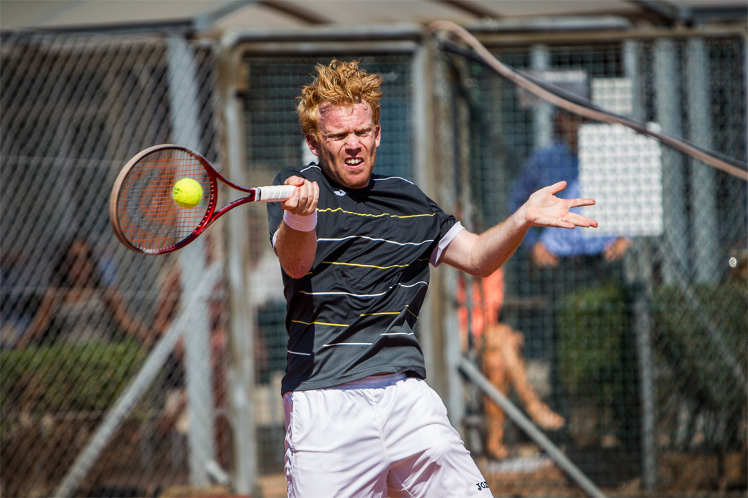 Tennisspilleren Martin Pedersen