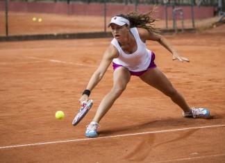 Tennisspilleren Karen Barbat