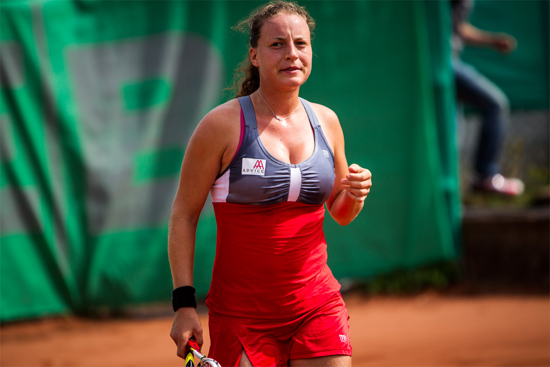 DM tennis damefinale udendørs 2014, Karen Barbat