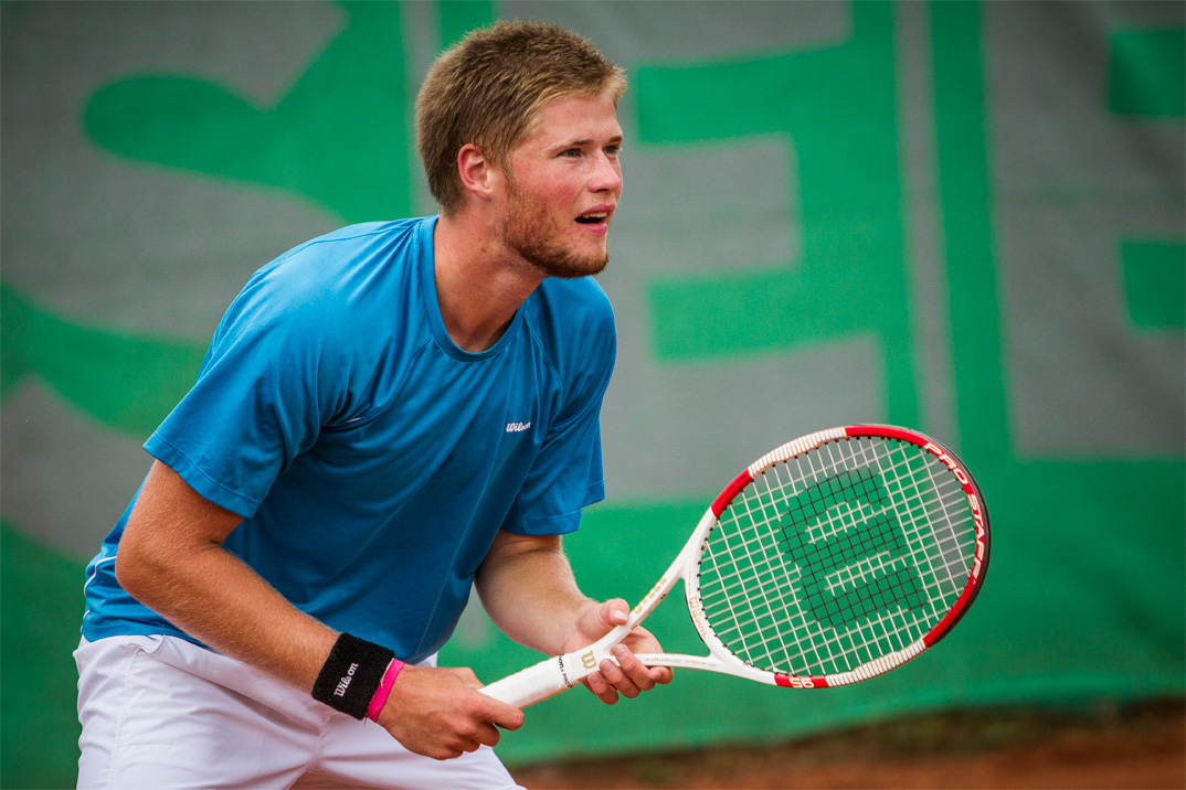 DM tennis herrefinale udendørs 2014, Christian Sigsgaard