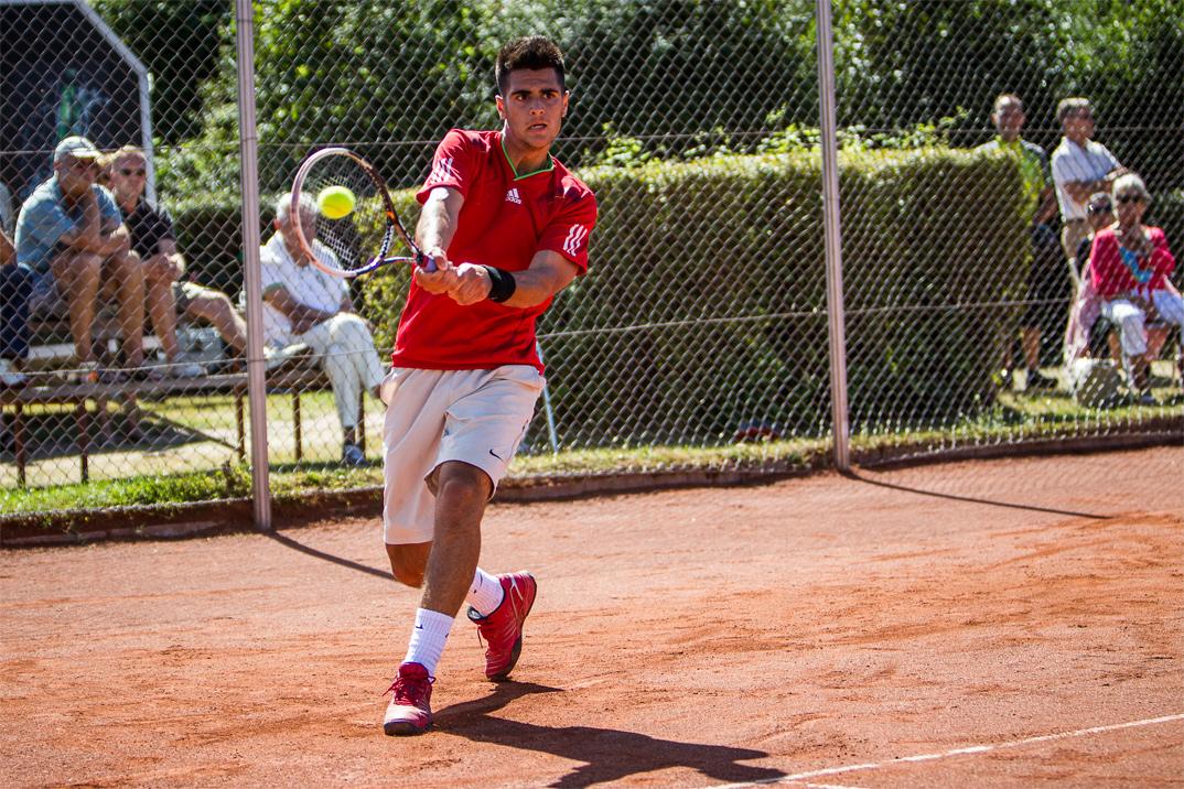 Tennisspilleren Mohamed Shabib