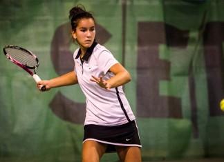 Tennisspilleren Sofia Nami Samavati