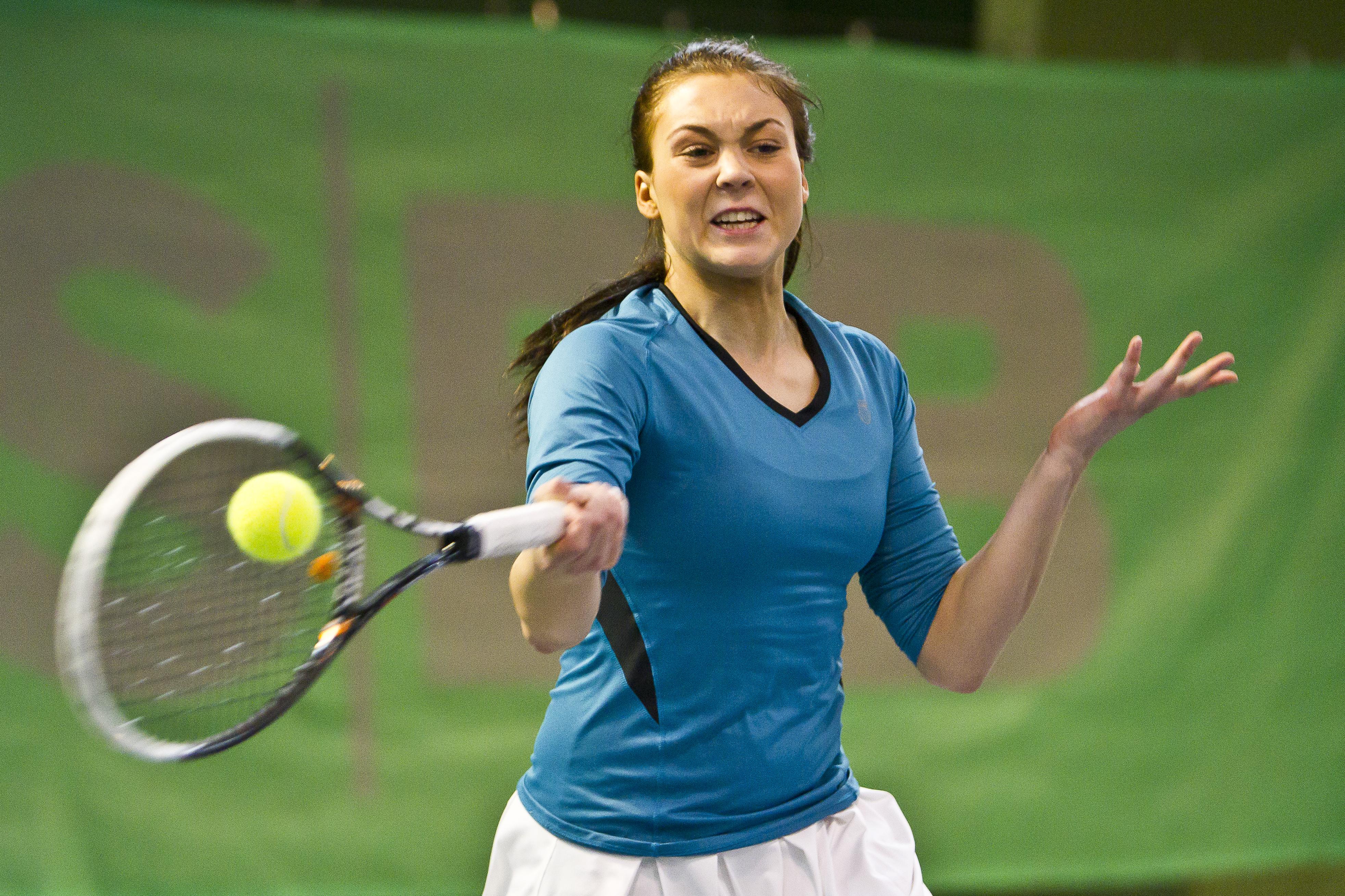 Tennisspilleren Martine Ditlev