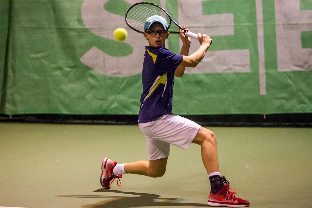 Tennisspilleren Oskar Brostrøm Poulsen