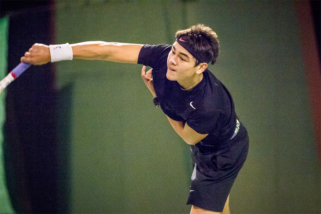 Tennisspilleren Philip Hjorth