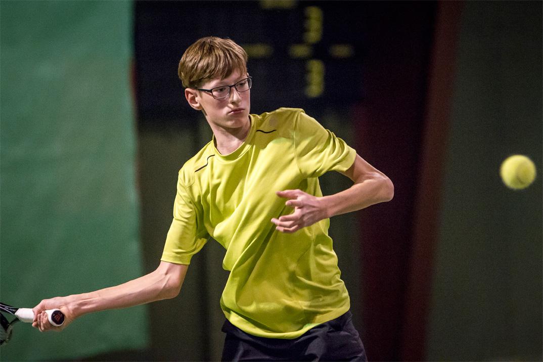 Tennisspilleren Emil Okkels Jensen