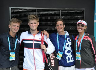 Johannes Ingildsen, Christian Sigsgaard, Benjamin Hannestad, Emilie Francati