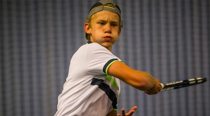Tennisspilleren Johannes Ingildsen