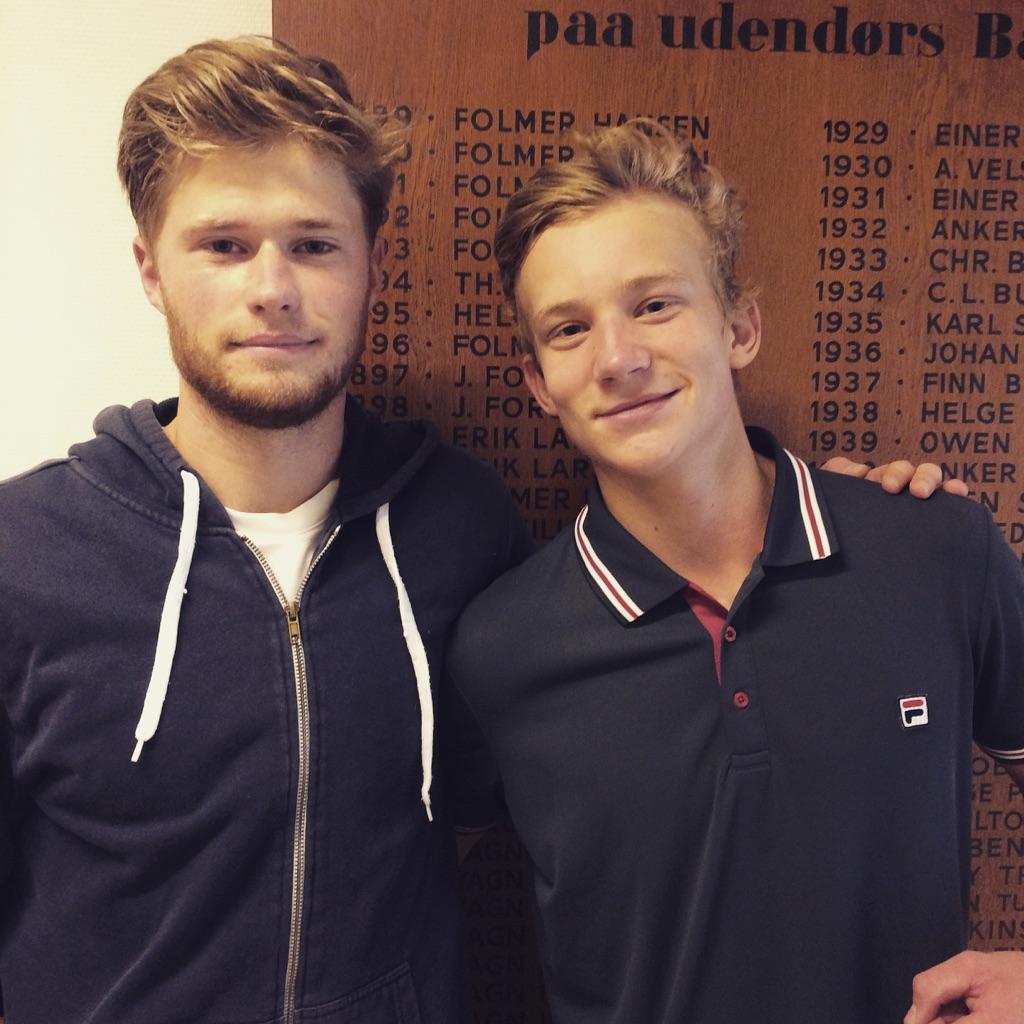 Christian Sigsgaard og Johannes Ingildsen
