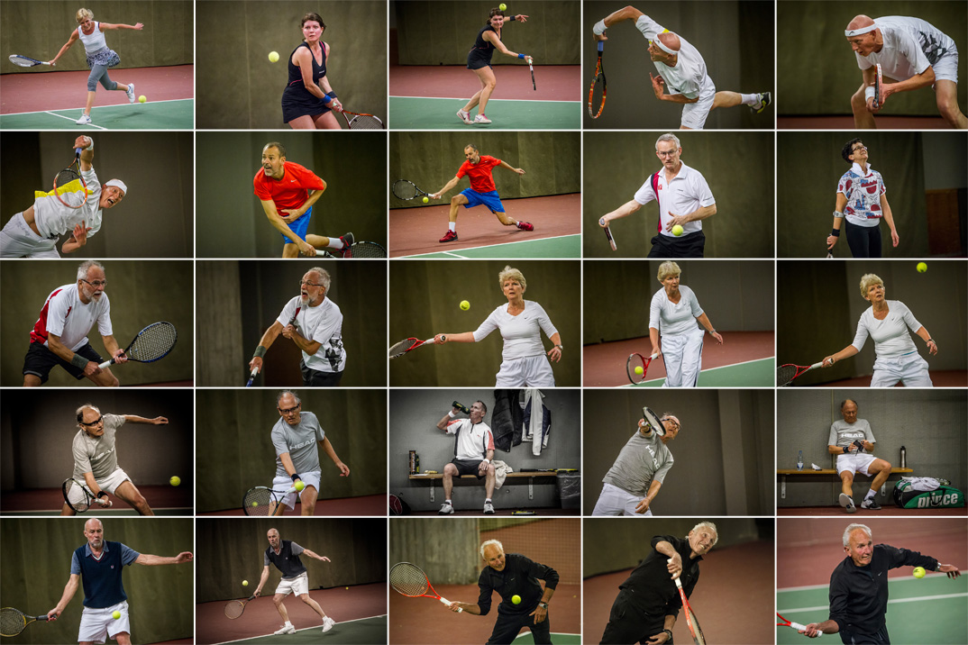 Tennisveteranen Annette Nederby