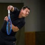 Tennisveteranen Lars Elkjær