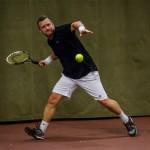 Tennisveteran Peter Mortensen