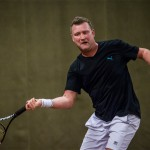 Tennisveteran Peter Mortensen