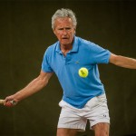 Tennisveteranen Carsten Hauch