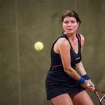 Tennisveteranen Tina Luthon
