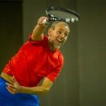 Tennisveteranen Martin Hansen