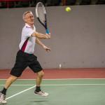 Tennisveteranen Kurt Jensen
