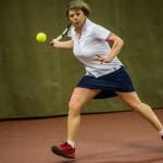 Tennisveteranen Solveig Kaas