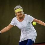 Tennisveteranen Lis Sørensen