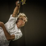 Tennisveteranen Peter Holst
