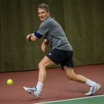 Tennisveteranen Henrik Løchte