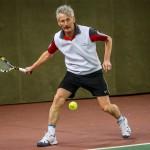 Tennisveteranen Frans Nørby