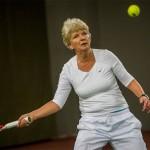 Tennisveteranen Elsebeth Schønau