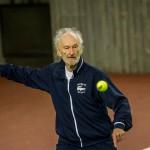 Tennisveteranen Niels Erik Tanholdt