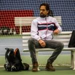 Tennistræner Joakim Bengtson