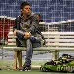 Tennistræner Andri Jóns