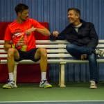Tennisspilleren Philip Ørnø, og John Larsen