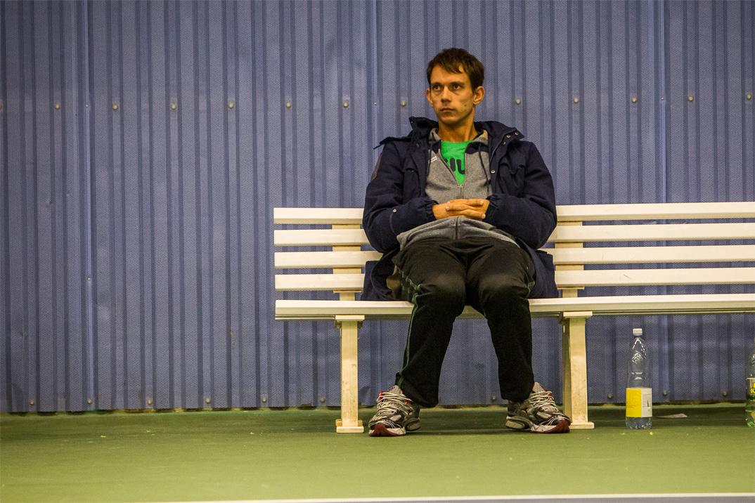 Tennisspilleren Frederik Løchte Nielsen
