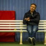 Tennistræner John Larsen