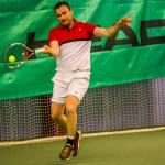 Tennisspilleren Andreas Laulund