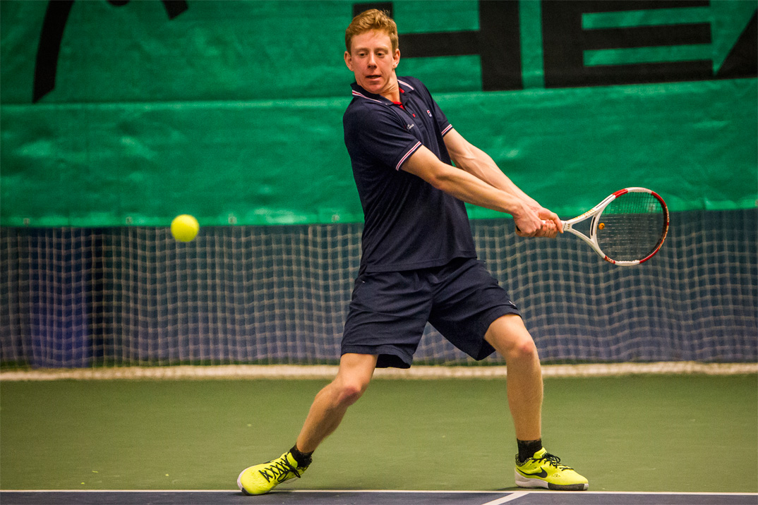 Tennisspilleren Alexander Schou