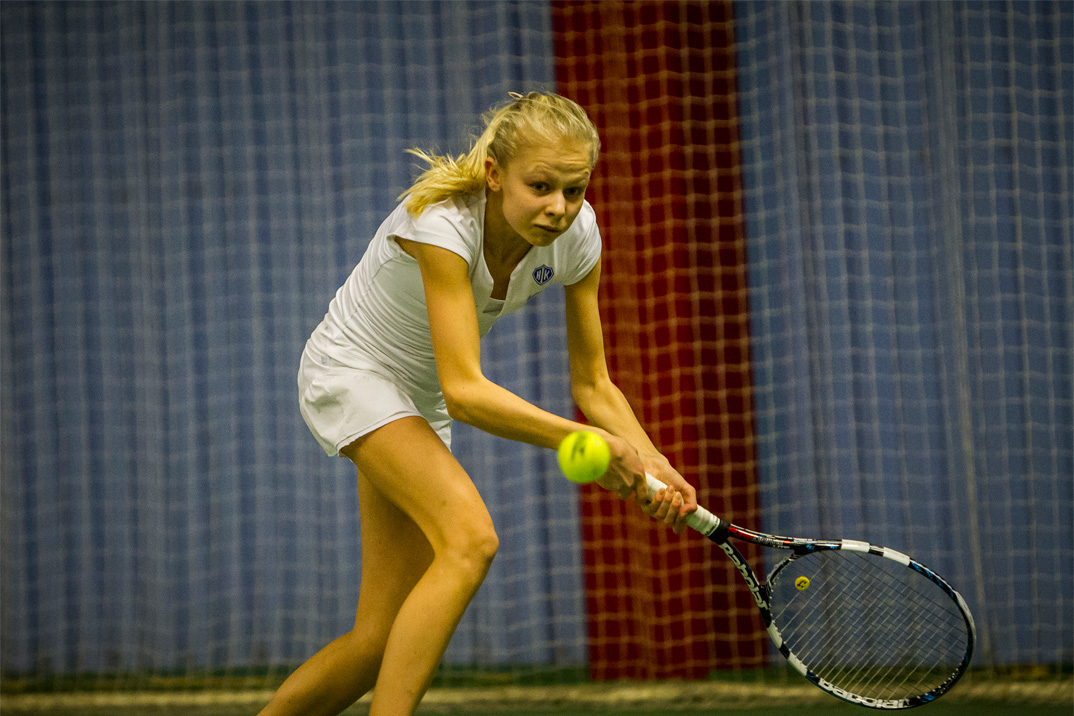 Tennisspilleren Hannah Viller Møller