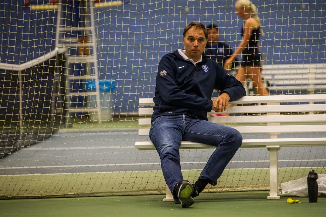Tennistræner Morten Christensen